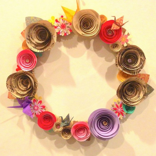 Recycled home decor ideas recycled things for Decorative flowers for crafts