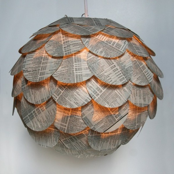 Recycled Papers globe