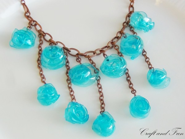 recycled plastic bottles jewelry recycled things