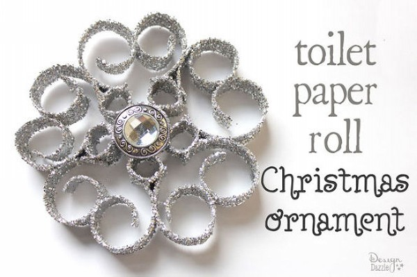 Recycled Toilet Paper Rolls Christmas Decorations Craft