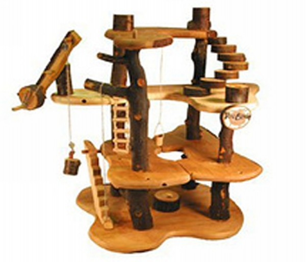 Recycled Tree House Kid Toys