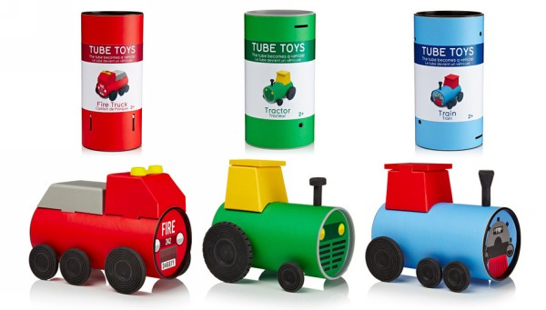 Recycled Tube Kid Toys