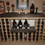 Awesome Wine Rack Made from Recycled Pallet