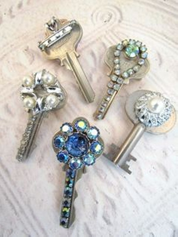Repurposed Keys Jewelry