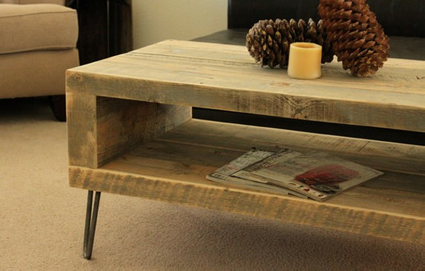 Repurposed Wood Coffee Table