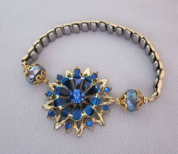 Repurposing Jewelry Bracelet