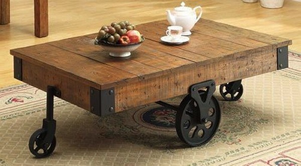 Reuse Wood Coffee Table