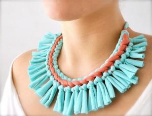 Upcycled Fabrics into Elegant Jewelry