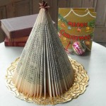 Upcycled Paper for Christmas Decor