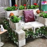 Upcycled Patio Furniture Chair