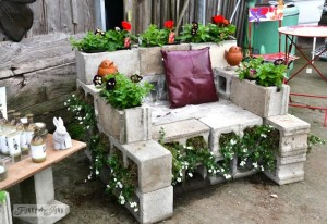 Upcycled Unique Patio Furniture Ideas