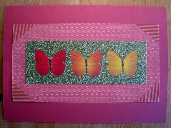 Beautiful Pink Birthday Card