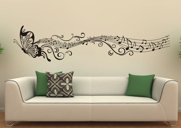 Living room wall decor ideas recycled things - Wall decoration ideas for living room ...