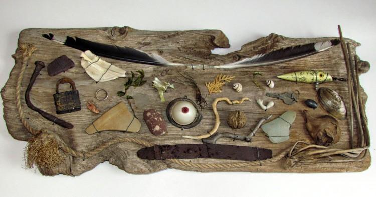 DIY Driftwood Wall Decoration
