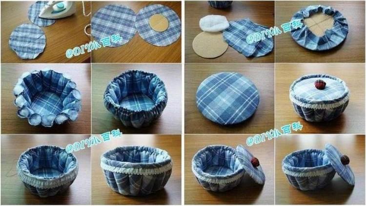 Diy storage organizer ideas recycled things for Diy box crafts