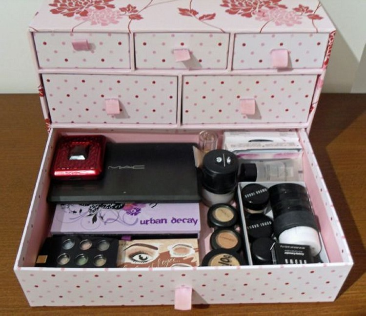 diy makeup storage box - photo #2