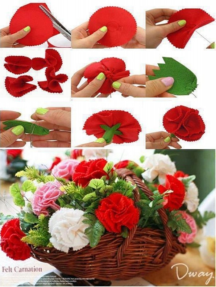DIY Paper Flower Project