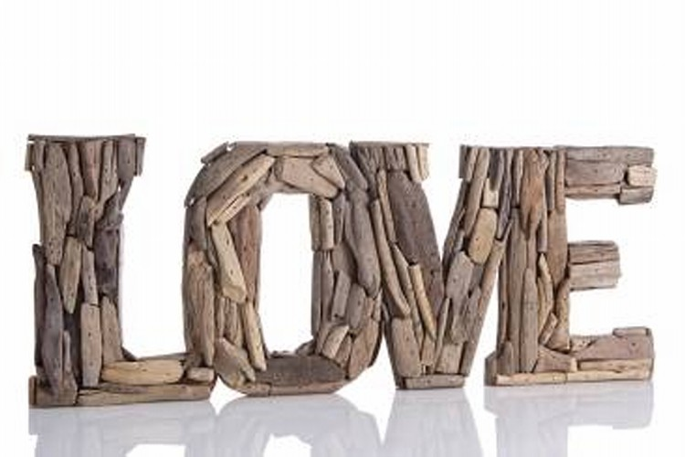 Source · Love Sign Driftwood Wall Decor