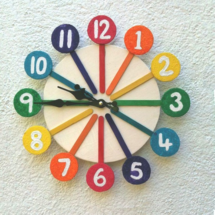 Recycled Modern Wall Clock Ideas Things