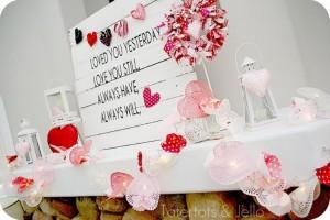 Pallet Valentines Day Decorating