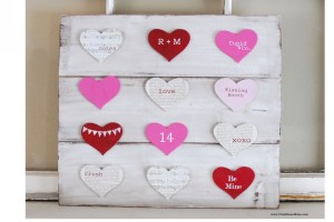 Pallet Valentines Day Decorations