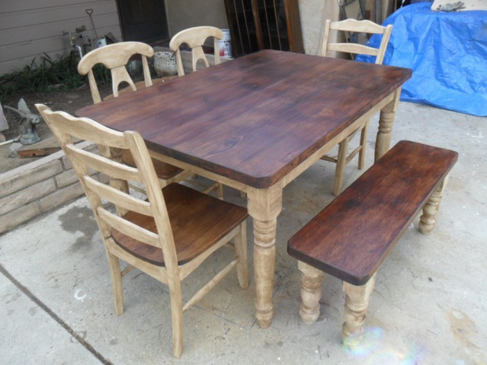 Source Reclaimed Wood Furniture Dining Table