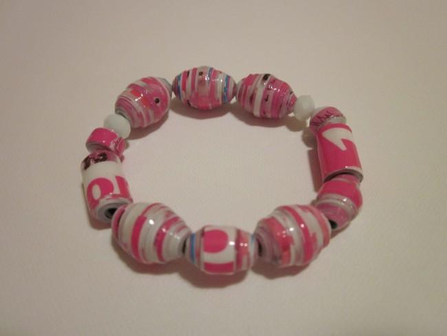 Recycled Beads Bracelet
