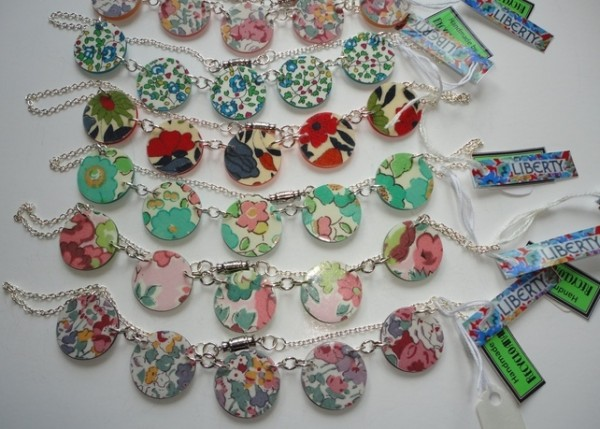 Recycled Buttons Necklace
