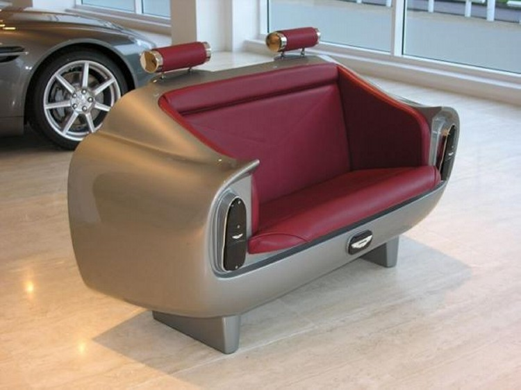 Recycled car parts innovative furniture recycled things for Furniture made from cars