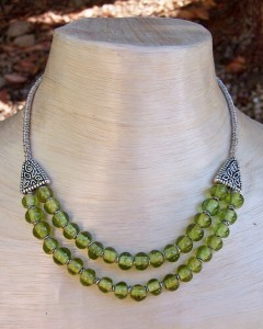 Recycled Beads into Awesome Jewelry