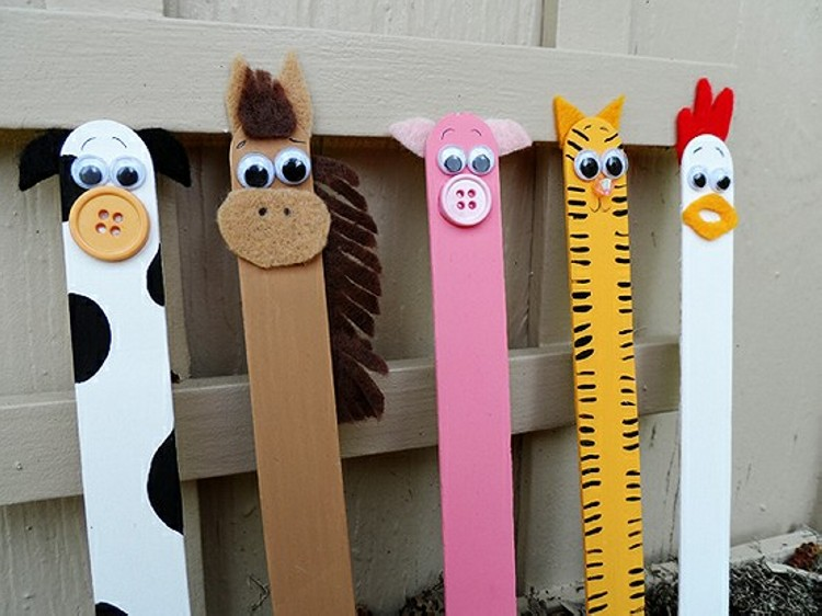 Recycled Ice Cream Sticks Kid Toys