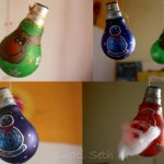 DIY Decorations from Recycled Light Bulbs
