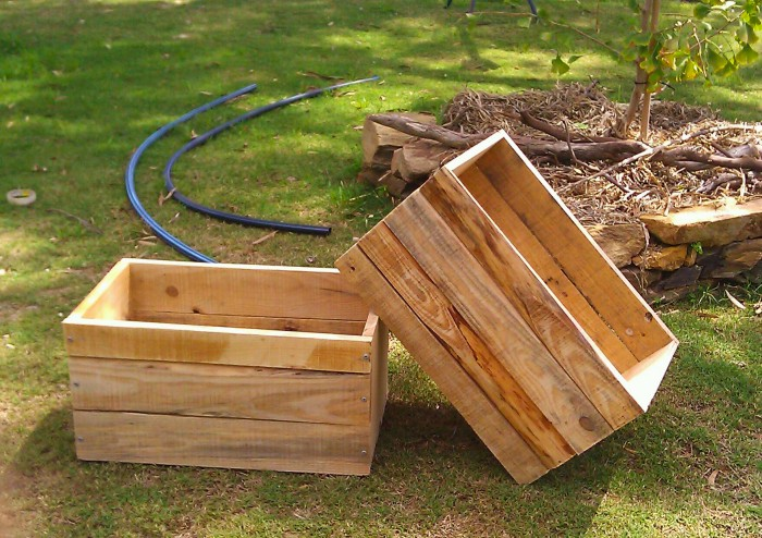 Recycled Pallet Crates