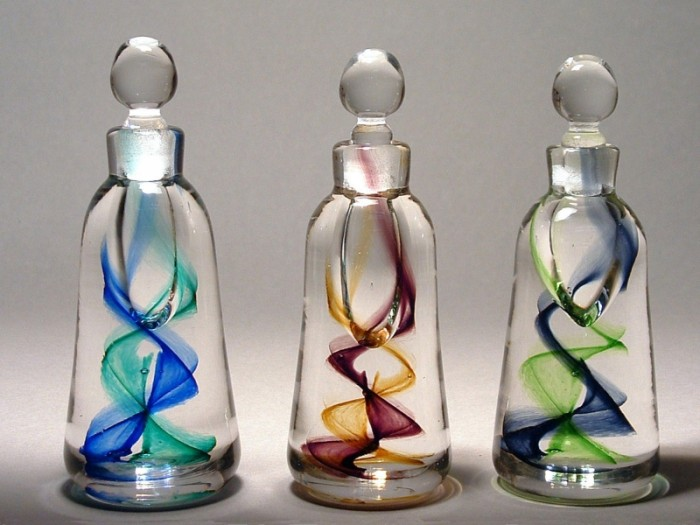 Recycled Perfume Bottles Decoration Pieces Things
