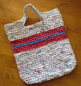 Recycled Plastic Bags Purse