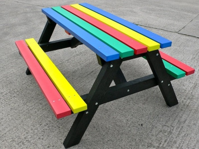 Recycled Plastic Outdoor Furniture : Recycled Things