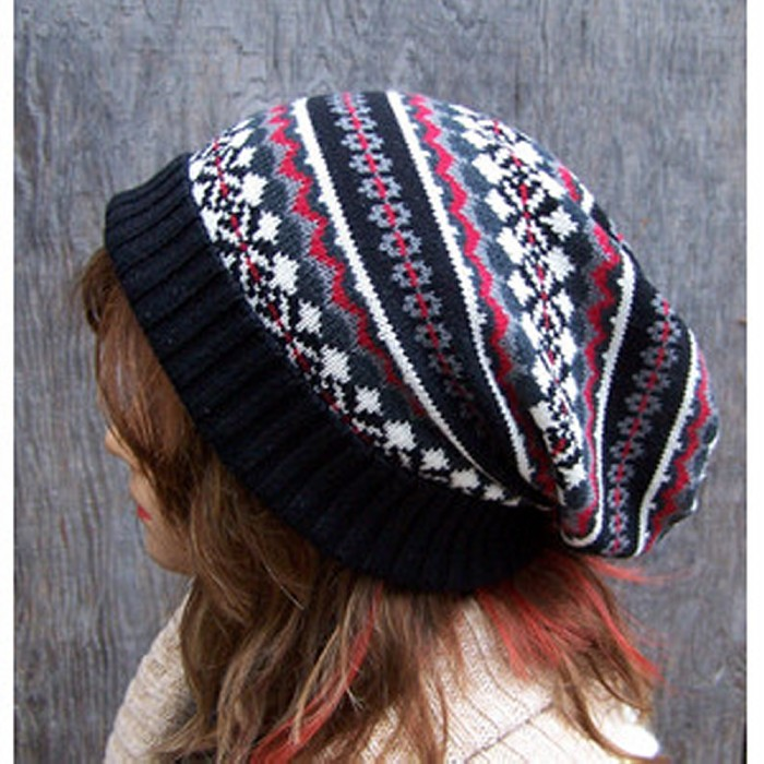 Recycled Sweater Cap