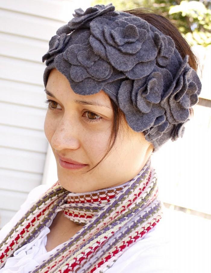 Recycled Sweater Headband