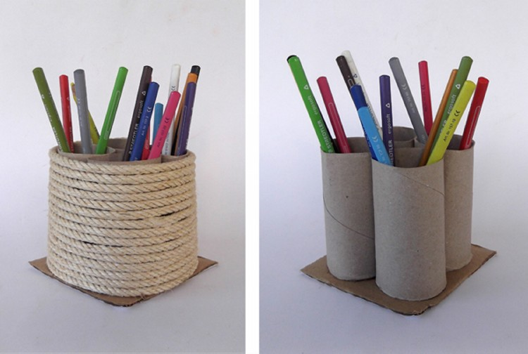 Recycled toilet paper rolls kid crafts recycled things Kids toilet paper holder