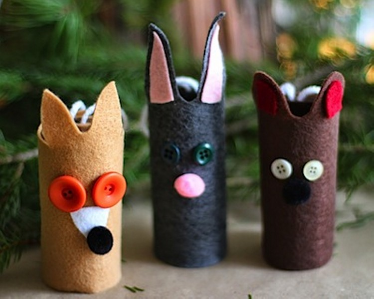 Recycled Toilet Paper Rolls for Kids