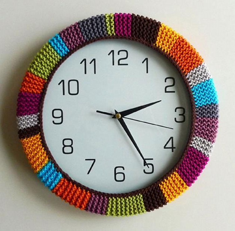 Recycled Wall Clock
