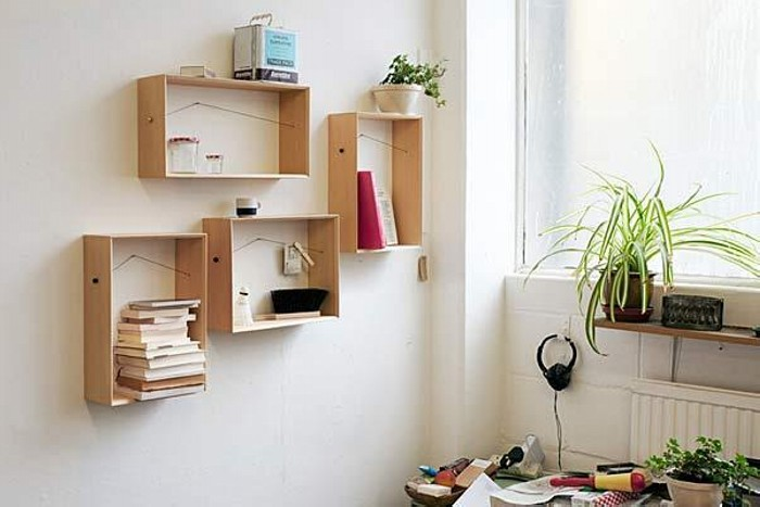 Diy Wall Decorating With Recycled Material Recycled Crafts