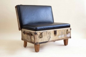 Reuse Suitcase Chair