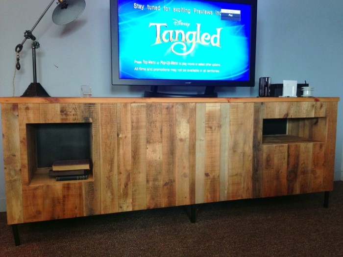 Tv Stands From Wooden Pallet Recycled Things
