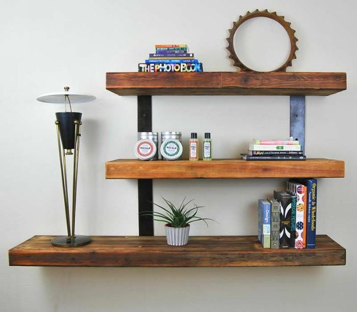 Source · Wooden Wall Shelves