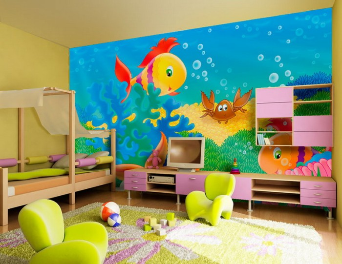 Kids room decor ideas recycled things for Recycled room decoration crafts