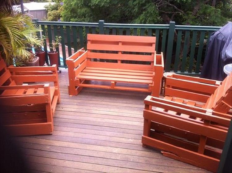 furniture out of wooden pallets. Wooden Pallet Outdoor Furniture DIY Made From Out Of Pallets