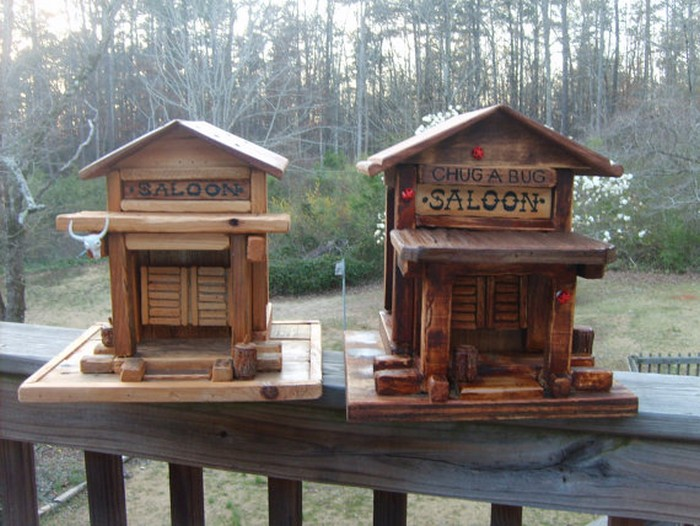 DIY Wooden Pallet Birdhouse Projects Recycled Things
