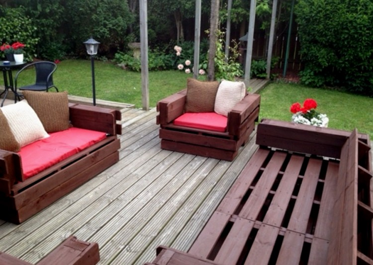 patio furniture from pallets. diy wooden pallet patio furniture from pallets y