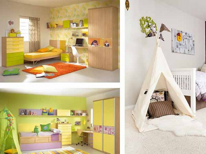 Kids room decor ideas recycled things for Children bedroom ideas
